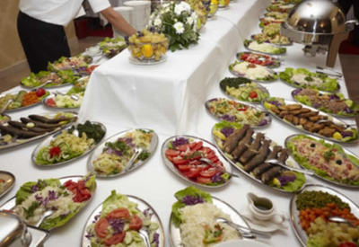 professional catering gallery
